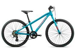 Подростковый велосипед Orbea MX 24 Dirt Blue-Red 2020