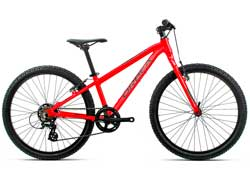 Подростковый велосипед Orbea MX 24 Dirt Red-Black 2020