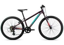 Подростковый велосипед Orbea MX 24 Dirt Purple-Pink 2020