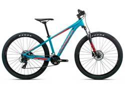 Подростковый велосипед Orbea MX 27 Dirt XS Blue-Red 2020