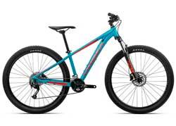 Подростковый велосипед Orbea MX 27 XC XS Blue-Red 2020