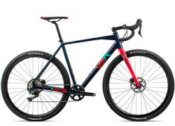 Велосипед Orbea Terra H30-D 1X M Blue-Red 2020