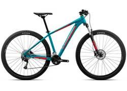 Велосипед Orbea MX 27 40 S Blue-Red 2020