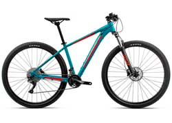 Велосипед Orbea MX 27 30 S Blue-Red 2020