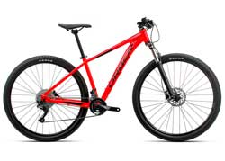 Велосипед Orbea MX 27 30 L Red-Black 2020