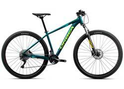 Велосипед Orbea MX 27 20 L Ocean-Yellow 2020