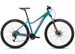 Велосипед Orbea MX 27 ENT 50 M Blue-Red 2020