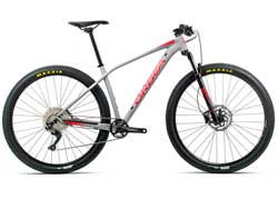 Велосипед Orbea Alma 27 H50 S Grey-Red 2020