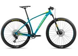 Велосипед Orbea Alma 27 H30 M Blue-Yellow 2020