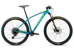 Велосипед Orbea Alma 27 H20-Eagle M Blue-Yellow 2020