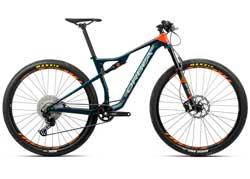 Велосипед Orbea Oiz 29 H30 L Blue-Orange 2020