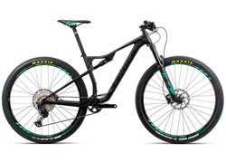 Велосипед Orbea Oiz 29 H20 S Black-Graphite 2020