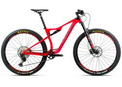 Велосипед Orbea Oiz 29 H20 L Red-Black 2020