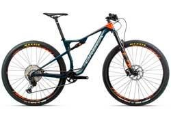 Велосипед Orbea Oiz 29 H20 S Blue-Orange 2020