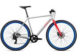 Велосипед Orbea Carpe 40 20 L White-Red 2020