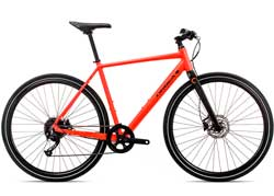 Велосипед Orbea Carpe 20 20 L Red-Black 2020