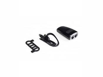 Мигалка Green Cycle NB30-00, 200 люмен, 4 режима, USB, передняя
