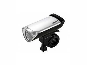 Фара передняя INFINI I-105 ч/сереб 5 бел светодиода, 2 р.