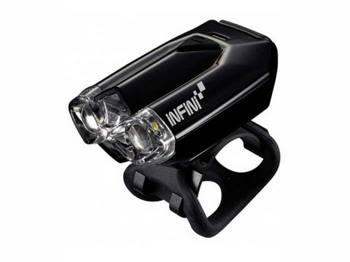 Фара передняя INFINI I-260W черн. 2 светодиода, 4 режима, USB, крепл.