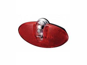Фонарь светодиодн задн +батар. INFINI I-500R2 0.5W LED, 3 р.
