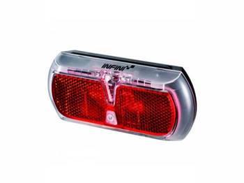 Фонарь светодиодн задн +батар. INFINI I-501R2 0.5W LED, 3 режима
