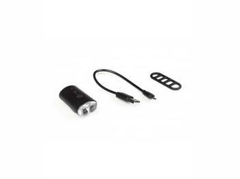 Мигалка Green Cycle NB26-00, 100люмен, 4 режима, USB передняя