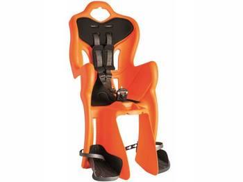 Сиденье задн. Bellelli B1 Standart до 22кг, оранжевое с чёрной подкладкой