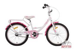 Велосипед 20 PRIDE SANDY 2014 бело-розовый