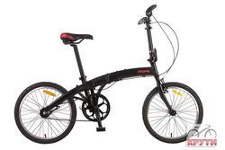 Велосипед 20'' PRIDE MINI 3sp черно-красный матовый 2015