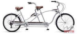 Велосипед 26 Schwinn TANGO TANDEM 2014 silver