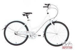 Велосипед 26 PRIDE Classic 2014 бело-синий