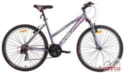 Велосипед 26 PRIDE Stella 2014 серо-розовый
