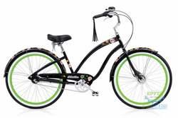 Велосипед 26 Electra Sugar Skulls 7i Ladies' Black