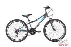 Велосипед 24 PRIDE BRAVE 2014 черно-синий