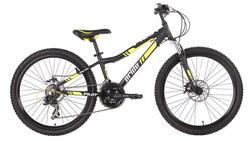 Велосипед 24 PRIDE PILOT 2014 черно-желтый матовый