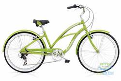 Велосипед 26 Electra Cruiser Lux 7D Ladies' Green Metallic