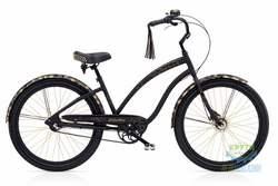 Велосипед 26 Electra Glam Punk 3i Ladies Matte Black