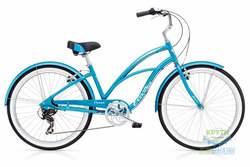 Велосипед 26 Electra Cruiser Lux 7D Ladies' Blue Metallic