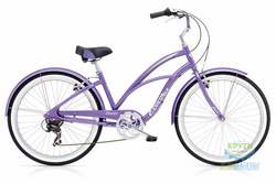 Велосипед 26 Electra Cruiser Lux 7D Ladies' Purple Metallic