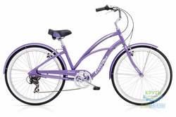 Велосипед 26 Electra Cruiser Lux 7D Ladies' Purple Metallic