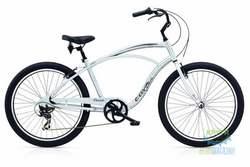 Велосипед 26 Electra Cruiser Lux 7D Men's Silver Satin