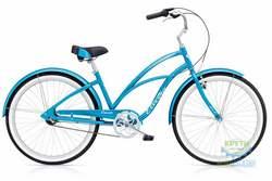 Велосипед 26 ELECTRA Cruiser Lux 3i Ladies Blue