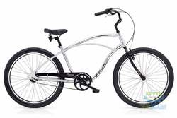 Велосипед 26 ELECTRA Cruiser Lux 3i Men's Silver