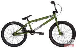 Велосипед  20 STOLEN STEREO #1 2012 Matte Army Green/Matte Black зеленый