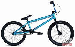 Велосипед  20 STOLEN HEIST #1 2012 Matte Electric Blue/Matte Black синий