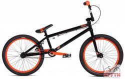 Велосипед  20 STOLEN HEIST #2 2012 ED Black/Neon Orange черный