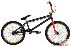 Велосипед  20 STOLEN SINNER XLT #2 2012 Matte Black/Red/Gold черный