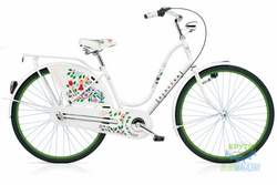 Велосипед 28 ELECTRA Amsterdam Classic 3i Tree of Life (Girard) бел