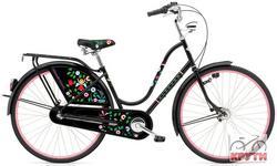 Велосипед  28 ELECTRA Amsterdam Girard 3i .Alloy. Black Tree of Life ladies