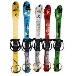 Лыжи с палками Marmat детские пласт., длина-90см зеленый